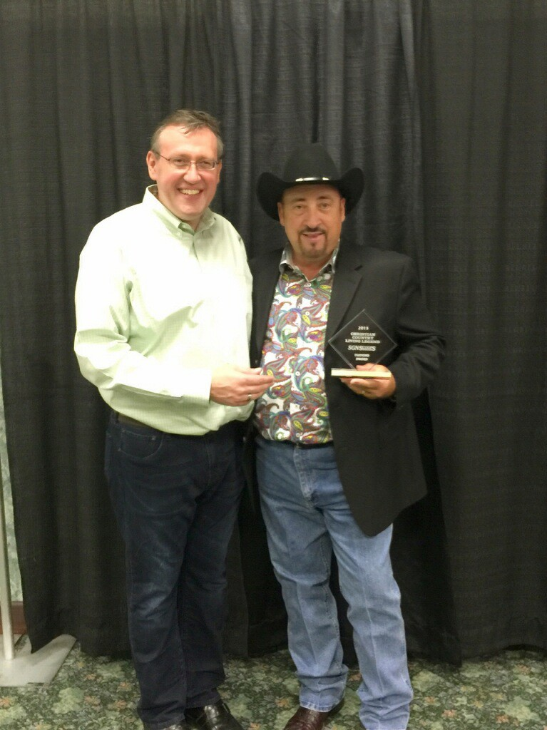 Chuck Day named Christian Country Living Legend at Christian Country Expo
